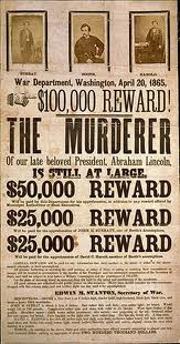 jw booth wanted poster